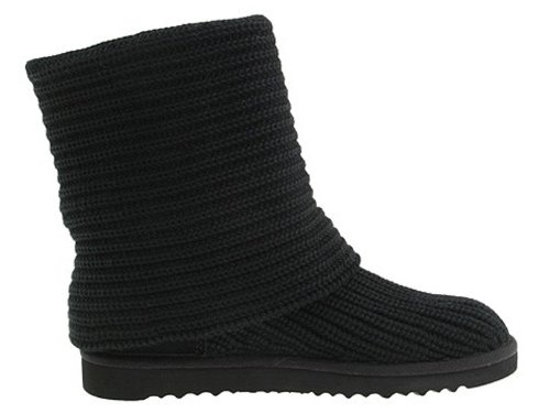 Ugg's Australia Womens Classic Cardy Black Style# 5819
