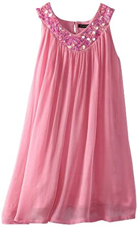 French Connection Big Girls' Vicky Dress, Bon Bon, 14