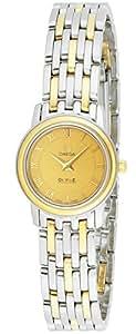[オメガ]OMEGA 腕時計 デ・ビルプレステージ ゴールド文字盤  GP/ステンレスケース 4370.12 レディース 【並行輸入品】