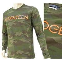 ハイドロゲン HYDROGEN メンズ カットソー ロンT 140617-397 カモフラカーキ(並行輸入品)14SS