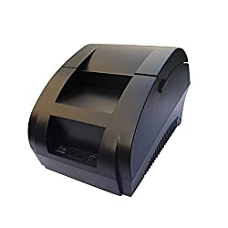 Maya Black USB Port 58mm thermal Receipt pirnter POS printer low noise.printer thermal