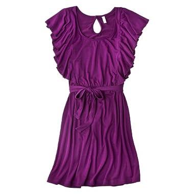 Product Image Xhilaration® Junior Flutter Sleeve Dress - Violet