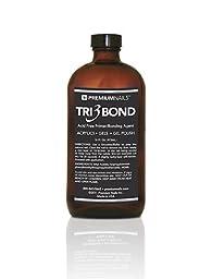 Premium Nails Tri 3 Bond Acid Free Primer / Bonding Agent (16 oz)