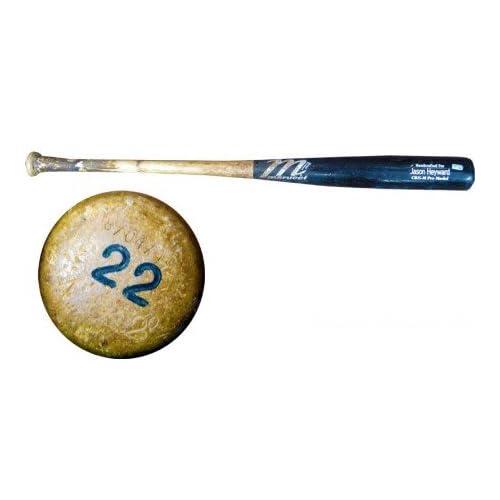 Jason Heyward Game Used MLB Authenticated Marucci Bat