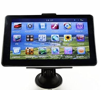 "TTBY 7"" 800*480 Windows CE 6.0 4GB HD Screen Car GPS Navigation Navigator SAT NAV Free US Map"