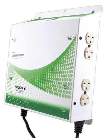 Titan Controls 702672 Helios 6 8-Light Controller With Nema 6-15 Outlets, 240-Volt