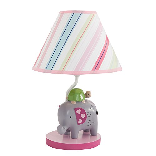 Lambs & Ivy Sprinkles Lamp with Shade and Bulb - 1