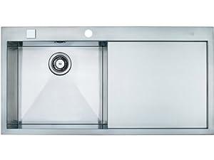 Franke Flush Mount Sink : Franke flush mount inset sink Planar PPX 211 smooth stainless steel ...