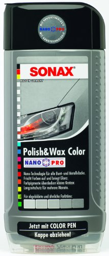 Sonax 500ml Colour Polish and Wax - Silver