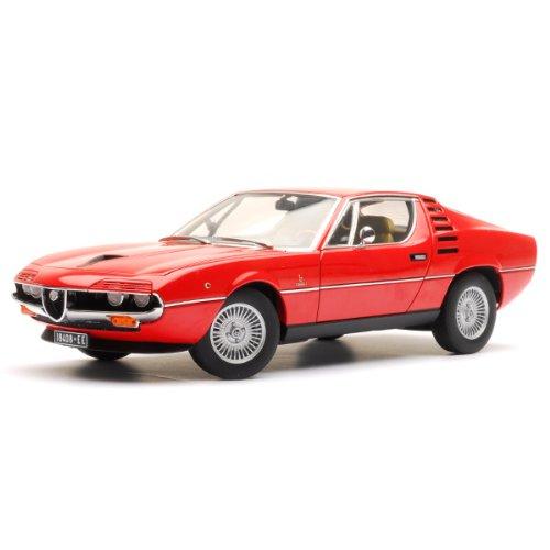 Alfa-Romeo-Montreal-rot-1970-Modellauto-Fertigmodell-Auto-Art-118
