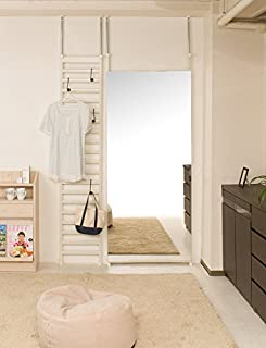 狭い部屋を広く見せるために鑑を利用する