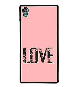 Love 2D Hard Polycarbonate Designer Back Case Cover for Sony Xperia Z5 :: Sony Xperia Z5 Dual