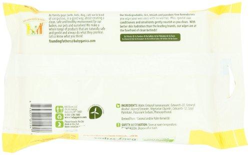 Imagen de Babyganics Thick N 'Ultra Kleen Baby Wipes Sensitive, Paquete Soft con tapa, 40-Count (paquete de 6)