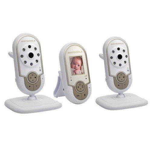 motorola mbp28 multicam wireless digital video baby monitor leo c crumid. Black Bedroom Furniture Sets. Home Design Ideas