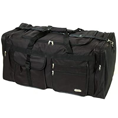 Extra Large 115 Litres Cargo Travel Bag (Black)