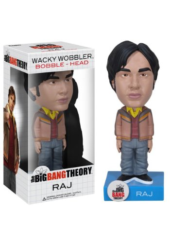 Funko Big Bang Theory: Raj Wacky Wobbler - 1