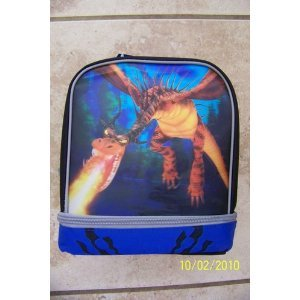 How to Train Your Dragon, Monstrous Nightmare 3-D Lunch Bag.