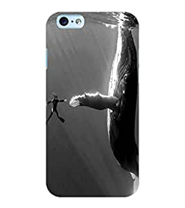 ColourCraft Underwater Image Design Back Case Cover for APPLE IPHONE 6S