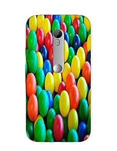 Bagsfull Designer Printed Hard Matte Back Cover Case Motorola Moto G3 3rd Gen