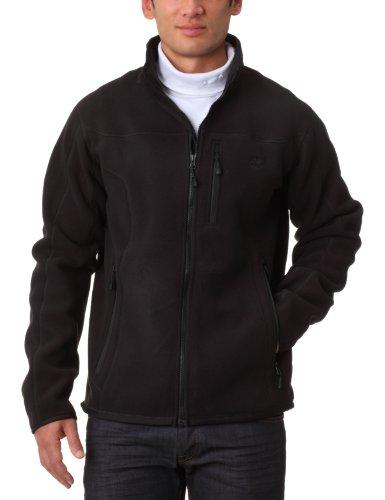 Timberland Bonded Fleece Full Zip Men's Jacket Black Small