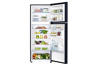 Samsung RT42K5068GL Frost-free Double-door Refrigerator (415 Ltrs, 3 Star Rating, Black Glass)
