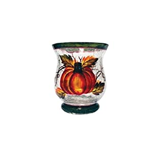 A Cheerful Giver Autumn Harvest Votive Candle Holder
