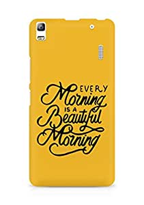 AMEZ every morning is a beautiful morning Back Cover For Lenovo A7000