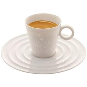 nespresso onirio premium espresso tassen untertassen 2er pack k che haushalt. Black Bedroom Furniture Sets. Home Design Ideas