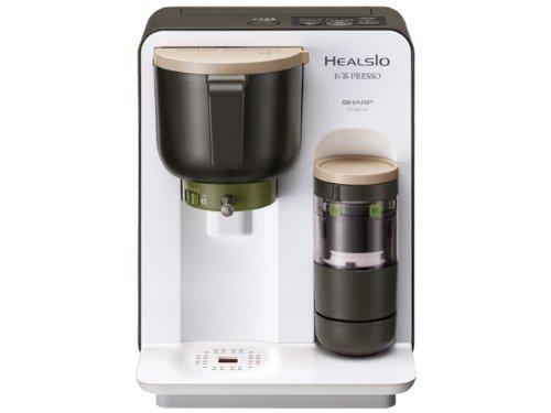 シャープ お茶メーカー ホワイト系SHARP HEALSIO ヘルシオお茶プレッソ TE-GS10A-W