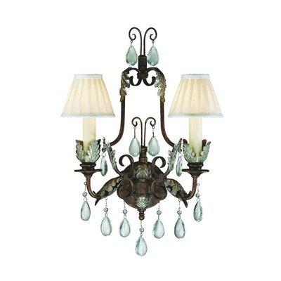 Savoy House Europe SE-9-0101-2-8 Lumière Applique 2 Ampoules 60 W E14
