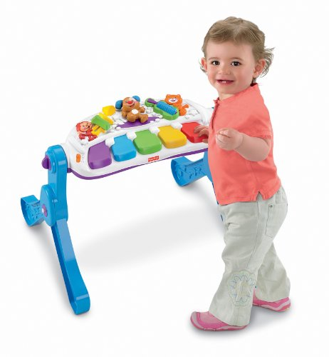 Fisher-Price Laugh & Learn Learn & Move Music Station - 1