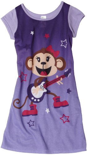 Girls Rock Star Monkey Dorm night Shirt