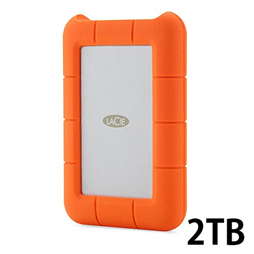 Lacie Rugged Thunderbolt & USB 3.0 Hard Drive【Mac対応・高速大容量ハードディスク】 (2TB)