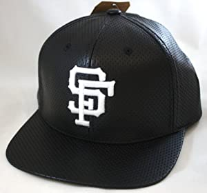 San Francisco Giants American Needle Limited Edition Faux Leather Delirious Snapback... by American Needle