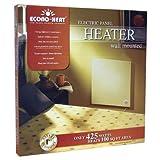 "Econo-heat Wall Mounted Electric Panel Heater 24"" x 24"" x 1/2"" ~ Econo-Heat"
