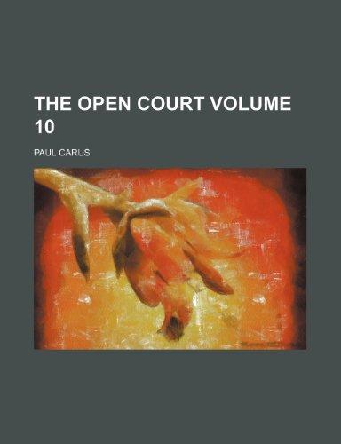 The Open court Volume 10