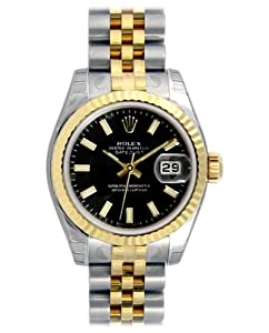 Rolex Fluted Bezel - Jubilee Datejust Lady Watch
