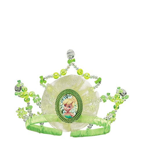 Tinker Bell Child Tiara, One Size, Green - 1