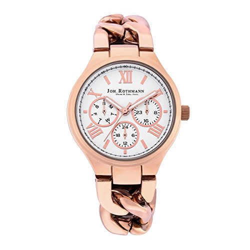 Joh. Rothmann Women's Watch Annabell visual chronograph 3 ATM IPRG 10030036