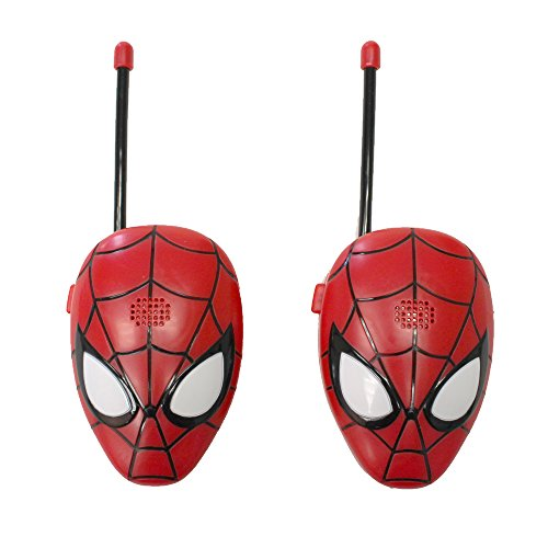 Marvel Spiderman Walkie Talkies - Red (19045)