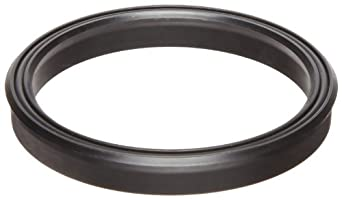 Lip Seal, Rectangular Profile, Buna-N O-Ring Loaded, Urethane