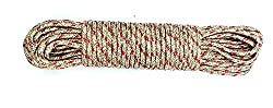 Olrada 20-Meter Nylon Clothesline Round Rope (Color May Vary)