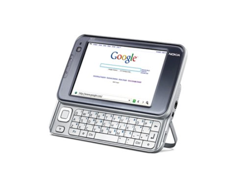 Nokia N810 Internet Tablet - Silver