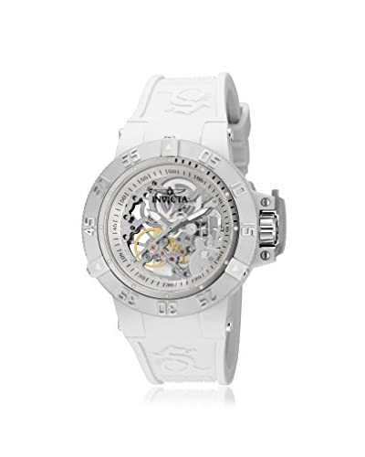 Invicta Women's Subaqua White/Silver Silicone Watch As You See