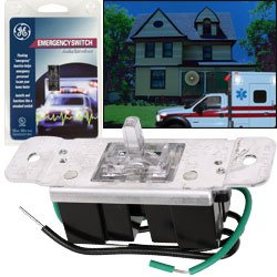 Ge Emergency Switch Flashing Light Activator Helping Emergency Personnel Quickly Locate Your Home
