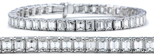 Emerald-Cut Diamond Bracelet (11 ct. tw.)