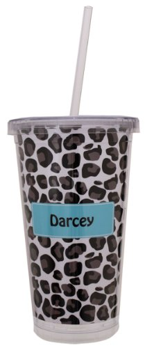 Custom Tumblers With Straw front-1048689