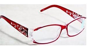 Amazon.com : Foster Grant Magnivision Red Stars & Scrolls