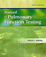 Manual of Pulmonary Function Testing,