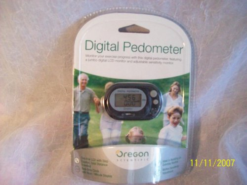 Cheap OREGON SCIENTIFIC PE320 PEDOMETER WITH DISTANCE COUNTER (PE320)